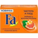 """мыло """"Чистота и Уход. Грейпфрут и молочные протеины"""", 90 г"""