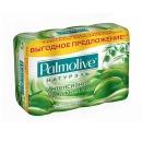 """Palmolive мыло """"Натурэль Интенсивное Увлажнение"""" с экстрактом оливы и увлажняющим молочком, 4 х 90 г"""