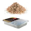 щепа для копчения в коробке для мяса, 450 мл