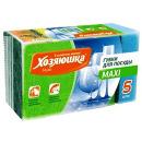 """губка для посуды """"Maxi"""", 5 шт"""