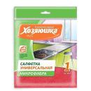 салфетка для ежедневной уборки универсальная, микрофибра 30 х 30 см, 1 шт