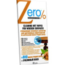 Zero салфетки влажные  для деревянных поверхностей, 40 шт