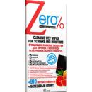 Zero салфетки влажные  для экранов и мониторов, 40 шт