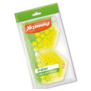 """губка для тефлоновой посуды """"Пчелка"""" в вакуумной упаковке, 2 шт"""