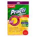 "Paclan чудо тряпка для полов ""Practi Micro"" 2 в 1 из микрофибры 50 х 60 см, 1 шт"