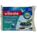 """губка """"PUR Active"""" для стеклокерамических плит, 2 шт"""