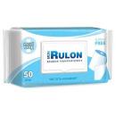 Mon Rulon влажная туалетная бумага c пластиковым клапаном, 50 шт