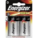 """Energizer батарейка алкалиновая """"MАХ D/LR20"""", 2 шт"""