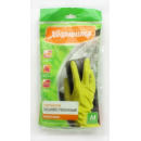 перчатки хозяйственные латексные, размер М
