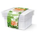 Хозяюшка Мила контейнеры для заморозки зелени 0,2 л, 5 шт