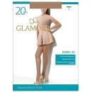 """Glamour колготки женские """"Edera"""" 20, daino, Размер 2"""