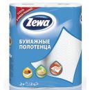 Zewa полотенца кухонные 2 слойные, 2 шт