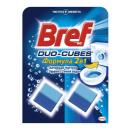 """Bref чистящие кубики """"Duo-Cubes. Формула 2 в 1"""" для сливного бачка, 2 х 50 г"""