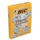 "лезвия для станка ""Chrome Platinum"" на карте, 100 шт"