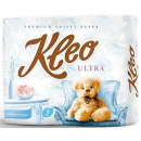 """Мягкий знак туалетная бумага """"Kleo. Ultra"""" белая 3х слойная, 8 шт"""