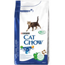 корм 3 в 1 профилактика мочекаменной болезни, комков шерсти, здоровье полости рта для кошек, 1.5 кг