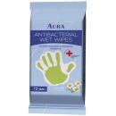 """Aura влажные салфетки с антибактериальным эффектом """"Family"""", 72 шт"""