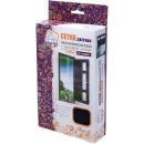 сетка-штора на дверь противомоскитная с  крепежной лентой 45х210 см, 2шт