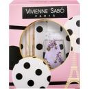 """Vivienne Sabo подарочный набор тушь """"Cabaret premiere"""" тон 1 + жидкость для снятия макияжа"""