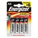 """Energizer батарейка алкалиновая """"Max E91"""" пальчиковая, 6 шт"""