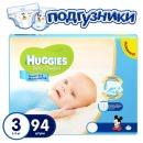 """Huggies подгузники для мальчиков """"Ultra Comfort"""" размер 3, 5-9 кг, 94 шт"""