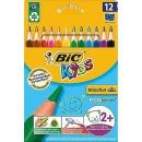 цветные треугольные пластиковые карандаши