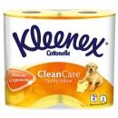 Kleenex туалетная бумага двухслойная, 4 шт