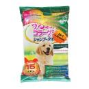 Japan Premium Pet шампуневые полотенца для экспресс-купания без воды, с коллагеном, гиалуроном и плацентой, для крупных собак, 15 шт