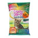 Japan Premium Pet шампуневые полотенца для экспресс-купания без воды, с коллагеном, гиалуроном и плацентой, для кошек, 25 шт
