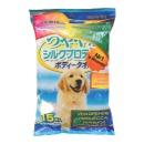 влажные полотенца с целебными свойствами меда, для крупных собак, 15 шт