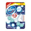 Domestos Power 5 с хлором кристальная чистота, 55 г