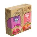 """Le Petit Marseillais набор гель-крем для душа """"Роза Прованса"""" 250 мл + шампунь для тонких волос """"Объём и Блеск Экстракт трех цветов и Грейпфрут"""" 250 мл"""