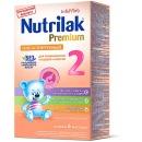 """Nutrilak молочная смесь """"Premium 2"""" гиппоаллергенная, 350 г"""