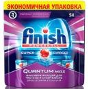 "finish таблетки для посудомоечных машин ""Quantum Max. Анти-жир"", 54 шт"