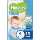 """Huggies подгузники для мальчиков """"Ultra Comfort"""" размер 4, 8-14 кг, 19 шт"""
