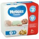 "Huggies подгузники ""Classic"" размер 2, 3-6 кг, 18 шт"