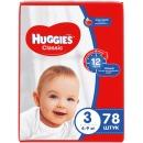"Huggies подгузники ""Classic"" размер 3, 4-9 кг, 78 шт"