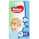 """Huggies подгузники для мальчиков """"Ultra Comfort"""" размер 4+, 10-16 кг, 68 шт"""
