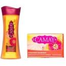 Camay гель для душа Динамик + мыло туалетное Динамик, 250 мл+85 г