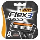 """Bic картридж """"FLEX 3 HYBRID"""", 8 шт"""