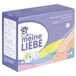 Meine Liebe стиральный порошок универсальный концентрат, 1 кг