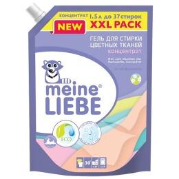 "Meine Liebe гель для стирки ""Луговые цветы"" для цветных тканей, 1,5 л"