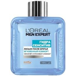 """L'Oreal Men Expert лосьон после бритья """"Гидра Сенситив. Мгновенный комфорт"""" для чувствительной кожи"""