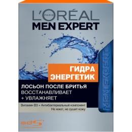 """L'Oreal Men Expert лосьон после бритья """"Гидра Энергетик"""" с антибактериальным эффектом, 100 мл"""