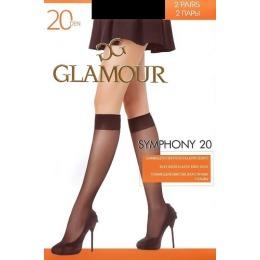 "Glamour гольфы ""Symphony 20"" daino"
