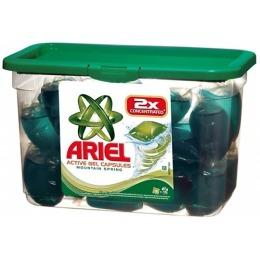 """Ariel гель """"Горный Родник"""" автомат жидкий в растворимых пакетах"""