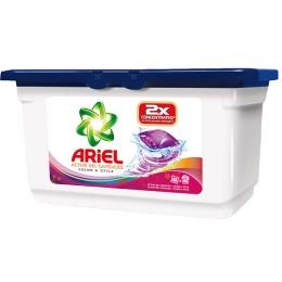"""Ariel гель """"Color&Style"""" автомат жидкий в растворимых пакетах"""