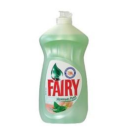 """Fairy средство для мытья посуды """"Нежные руки Чайное дерево и мята"""""""