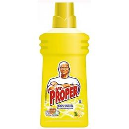 """Mr.Proper жидкость моющая для уборки """"Лимон"""", 750 мл"""