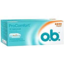 "o.b. тампоны ""ProComfort Super"", 8 шт"